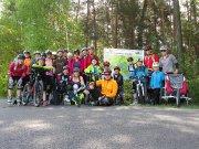 Inline bruslení u Lužických jezer - květen 2015